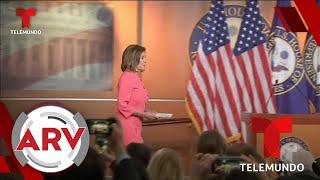 Cámara de Representantes presenta al Senado cargos contra Donald Trump   Al Rojo Vivo   Telemundo