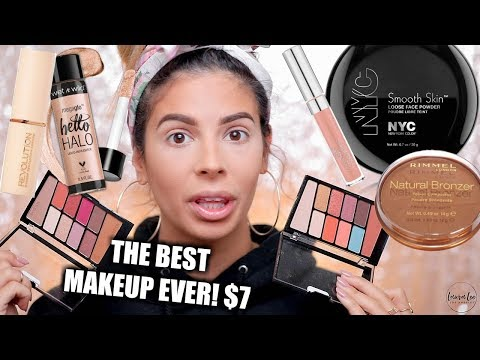 connectYoutube - FULL FACE NOTHING OVER $7 MAKEUP