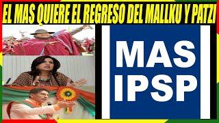 El MAS Convoca al Mallku, Rebeca Delgado, Félix Patzi y otros a Unirse Para Las Elecciones