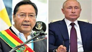 Putin hablo vía teléfono con Arce abordan el suministro de la vacuna rusa Sputnik V a Bolivia