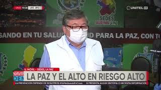 21 casos nuevos de coronavirus en La Paz elevan a 444 los contagios por esta enfermedad