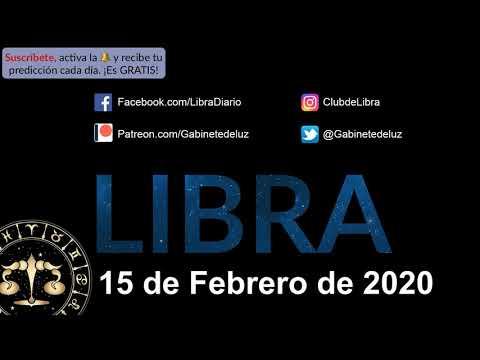 Horóscopo Diario - Libra - 15 de Febrero de 2020