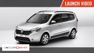 2015 Renault Lodgy Launch in India I CarDekho.com