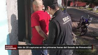 Estos son los nombres de los detenidos durante el #EstadoDePrevención en Escuintla