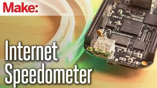 Weekend Projects - Internet Speedometer