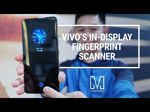Vivo X20 Plus UD Hands-On: World's First Under Display Fingerprint Sensor