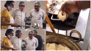 Artist Surekha Vani Preparing Food At Her Tamil Movie Shooting | Latest Film News | TFPC - TFPC