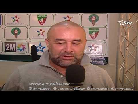 بن شيخة المدرب الجديد لمولودية وجدة: أنا سعيد بالعودة إلى المغرب