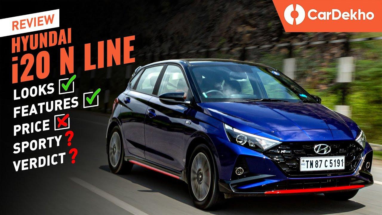 Hyundai i20 N Line Review: Looks ✔️ Features ✔️ Sporty ❓ | हिंदी First Drive | CarDekho.com