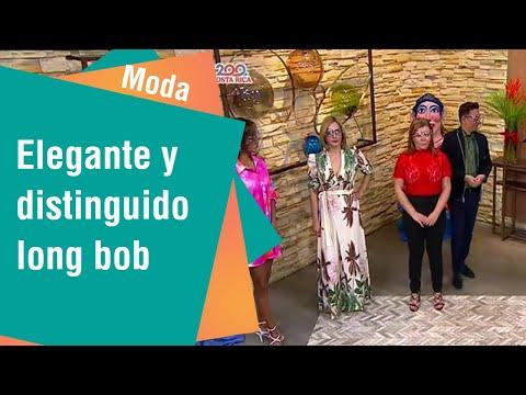 El elegante y distinguido long bob   Moda