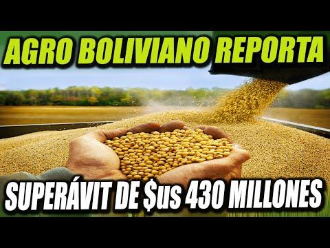 El Agro Boliviano reporta un superávit comercial de $us 430 Millones