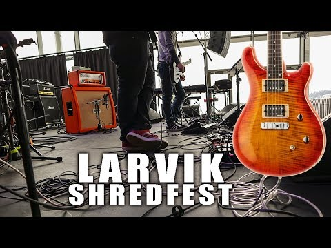 Larvik Shredfest (and Guitar Give Away Winner!)