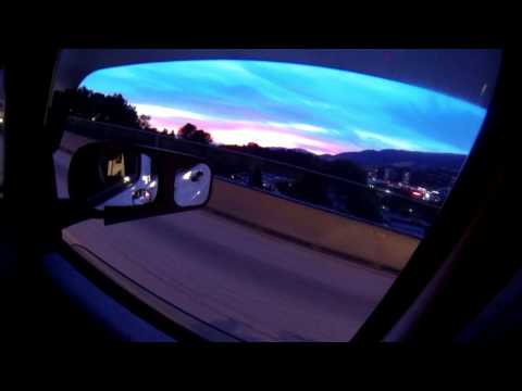 RV Life: Vancouver sunset from Lions Gate Bridge