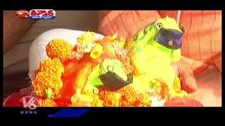 Public Performs Marriage for Frog Dolls    V6 Teenmaar News - V6NEWSTELUGU