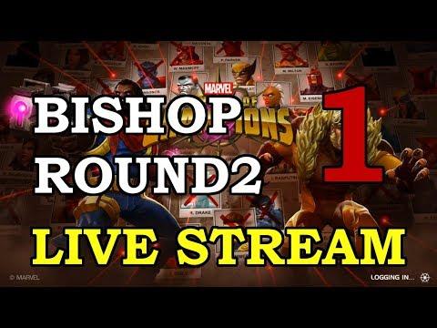 connectYoutube - Bishop Round 2 - Part 1 | Marvel Contest of Champions Live Stream