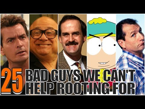 THE TOP 25 FUNNIEST SITCOM Bad Guys of ALL TIME