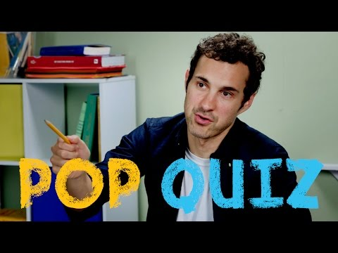 Mark Normand Takes A Pop Quiz!