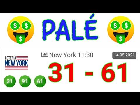 RESULTADOS de HOY....! ((( 31 61 )) BINGO PALÉ hoy /loteria NEW YORK NOCHE/ UN SÓLO NÚMERO para HOY