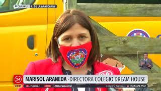 Convierten los furgones escolares en salas de clases para niños en zonas rurales de la Araucanía