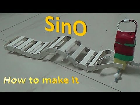 How to make SinO – A Wave / Worm Robot