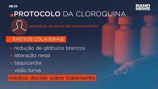 Novo protocolo para cloroquina autoriza uso do medicamento em casos leves da Covid-19