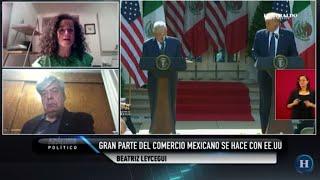 Impresiones de la reunión de AMLO con Donald Trump; expertos opinan