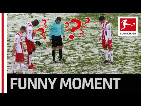 Referee vs. Snow - The Search for the Missing Penalty Spot
