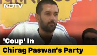 After Coup, Chirag Paswan At Uncle's Doorstep, Returns After Long Wait - NDTV