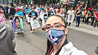 ????#EnVivo desde el Ángel de la Independencia | Inicia marcha a 6 años de #Ayotzinapa