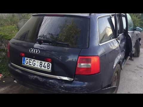 Audi A6 2001 m dalys