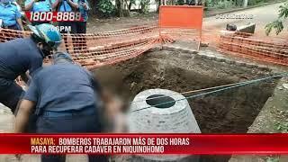 Masaya: Hombre muere al caer en una alcantarilla en construcción - Nicaragua