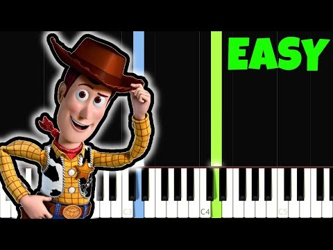 connectYoutube - Toy Story [Easy Piano Tutorial] (Synthesia)