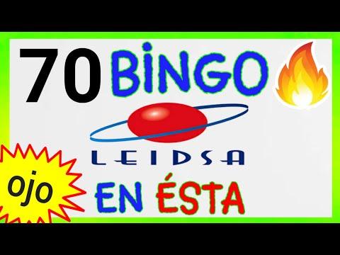 SORTEOS de LEIDSA..! (( 70 )) BINGO HOY / RESULTADOS de las LOTERÍAS/ UN SÓLO NÚMERO para HOY.
