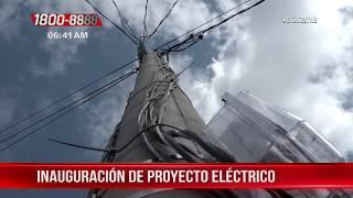 Inauguración del proyecto de energía eléctrica en Boaco - Nicaragua