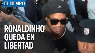 Ronaldinho queda libre tras presentar documento falso en Paraguay