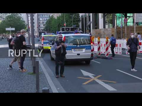 Germany: Protesters rally after Special Task Force disbanded due to far-right messages in Frankfurt