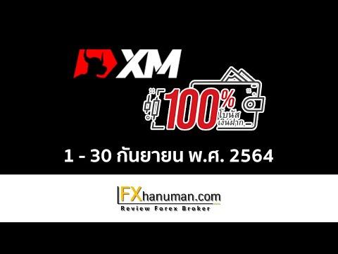 XM-โบนัสเงินฝาก-100%