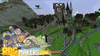 Minecraft - RPG Makers: Kingdom Build Day Finale