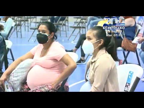 SESAL insiste a las mujeres embarazadas que acudan a vacunarse contra la Covid-19
