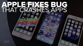 Apple fixes app-crashing bug in its OSes