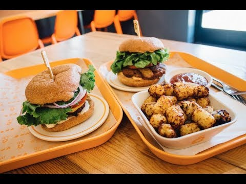 Healthy Places To Eat - Next Level Burger Grand Opening Brooklyn New York