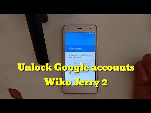Unlock-Google-Account-Wiko-Jer