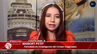 MAIBORT PETIT: EE.UU está investigando la conexión del gobierno de Sánchez con la droga de Venezuela