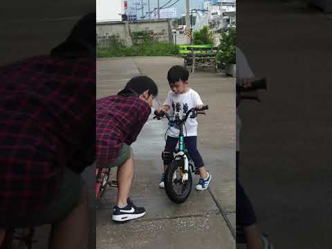 น้องวิณขี่จักรยาน-2-ล้อวันแรก-