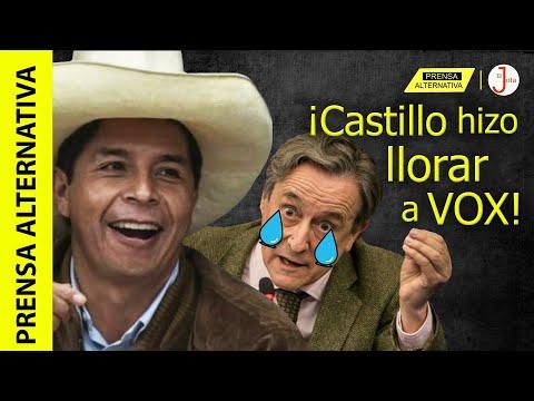 Castillo ofendió al Rey, acusa la ultraderecha española!