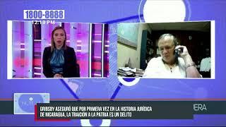 Grigsby: El propósito de los Estados Unidos es impedir la independencia de Nicaragua