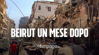 Beirut, un mese dopo l'esplosione: