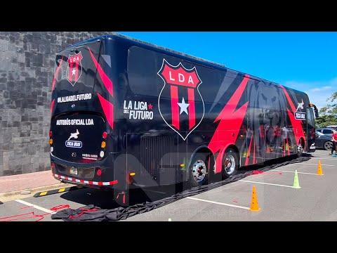 Equipo Rojinegro viajara en Autobús de 5 Estrellas