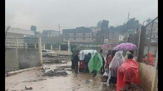 Imágenes de los estragos causados por las lluvias en Sololá