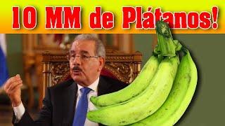 ????Noticias hoy 14 Mayo 2020  Republica Dominicana, Gobierno compra 10 millones de platanos
